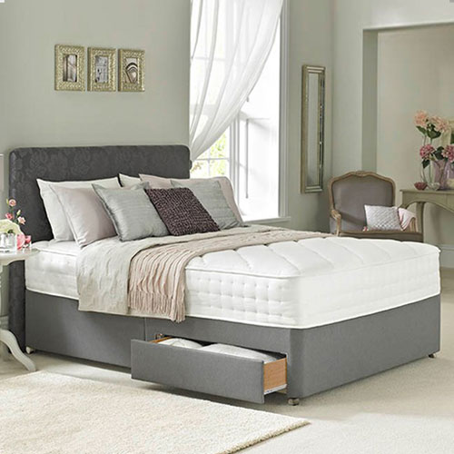 Rest Assured Cashmere Luxury 2000 Divan Bed Junction 26 Beds