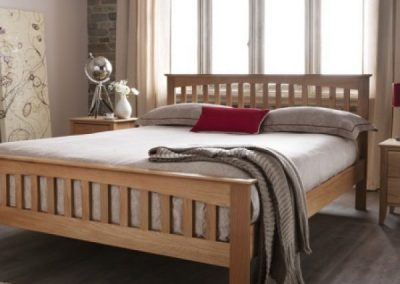 Windsor Wooden Bed Frame